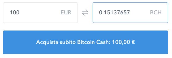 Come comprare Bitcoin Cash usando Coinbase